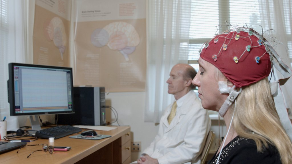 Scientists studying brainwave coherence